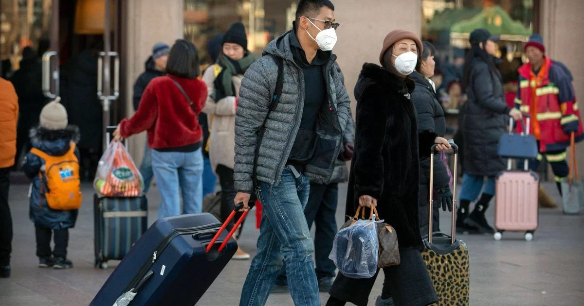 Days After Bird Flu Outbreak Reported In China, Suitcase ...