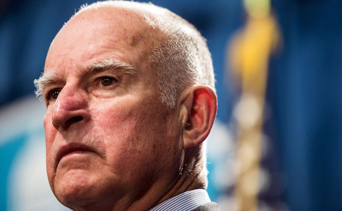 2018 Footage of Jerry Brown Saying 'Trump Is Sabotaging The World Order' Appears on Twitter ...