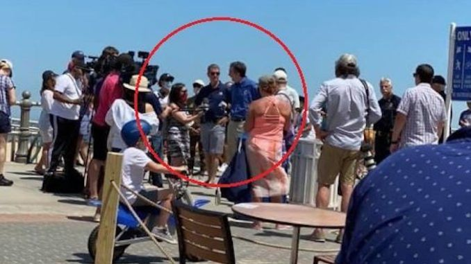 Gov. Northam Spotted at Virginia Beach NOT Social ...