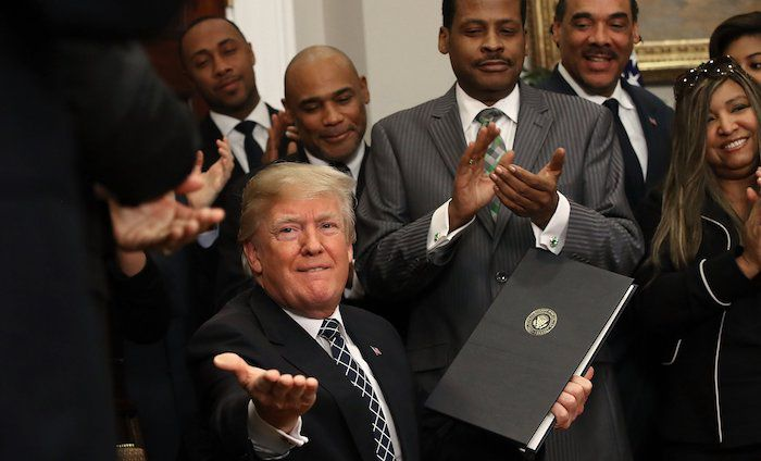 Black Approval for Trump Surges to Over 40% Despite ...