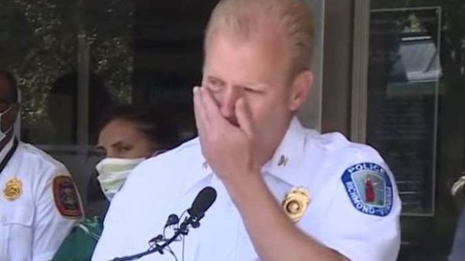 Police Chief Fights Tears As He Reveals 'Organized ...