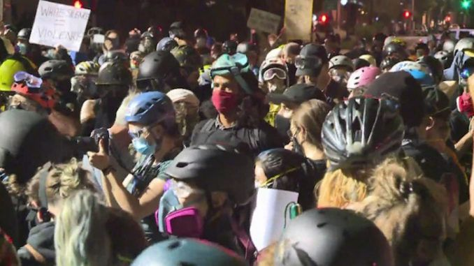 Portland Rioters Storm the Suburbs, Threaten To Rape Wives ...
