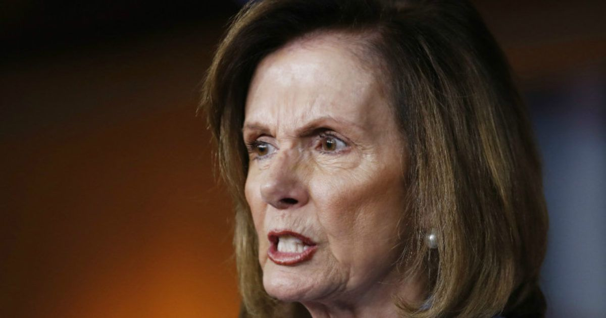 Nasty Nancy: Republicans Are 'Domestic Enemies' - News Punch