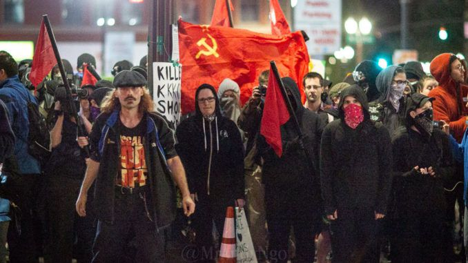 Portland Antifa Invade Residential Neighborhood and Try To ...
