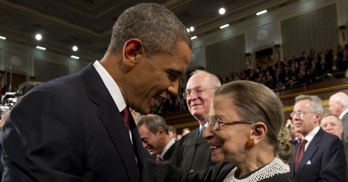 Obama Urges Republicans Not To Fill Ginsburg's Vacancy ...