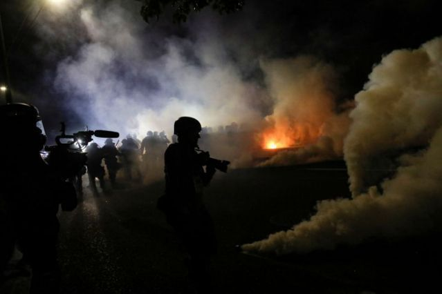 Portland: Protester Set Alight With Fire Bomb Aimed at Police - News Punch
