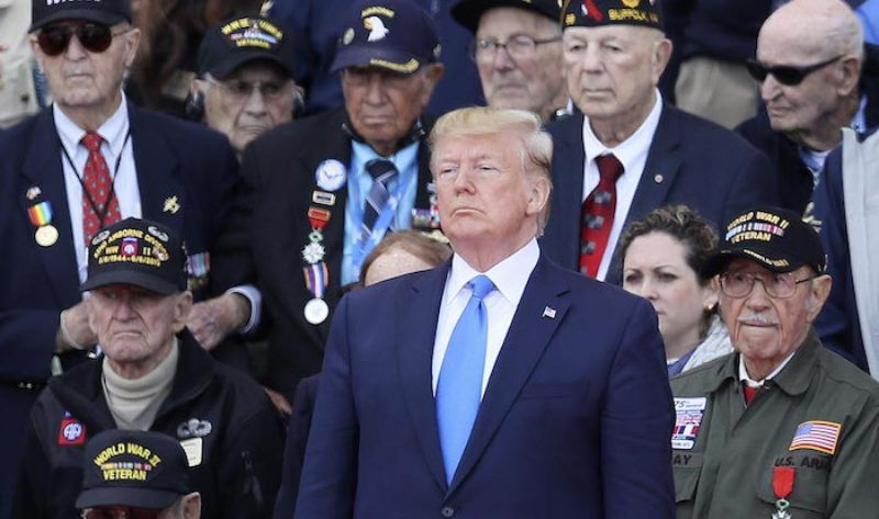 700 U.S. Veterans Issue Open Letter in Support of President Trump - News Punch