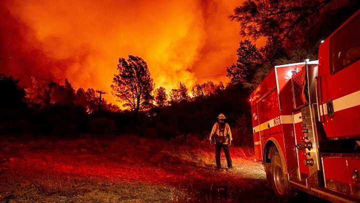 Half A Million Forced To Flee As Wildfires Rage across ...
