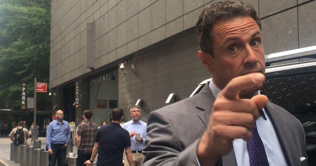 CNN's Cuomo Caught Fantasizing About Choking Tucker ...
