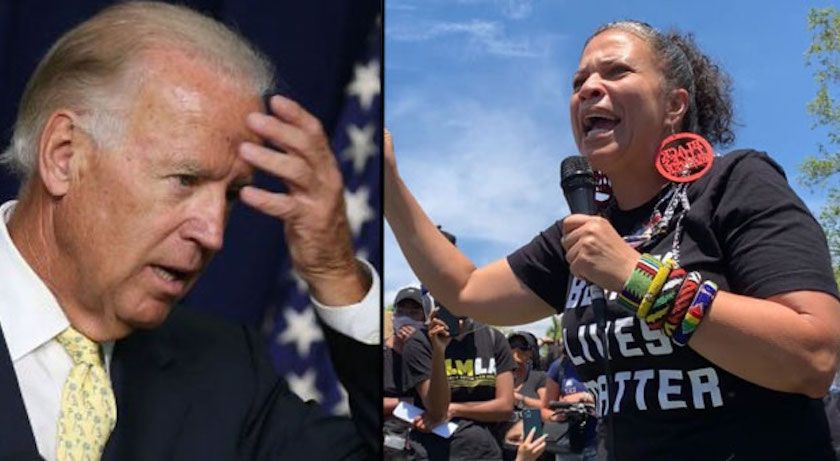Black Lives Matter Co-Founder Admits Joe Biden Is a ...