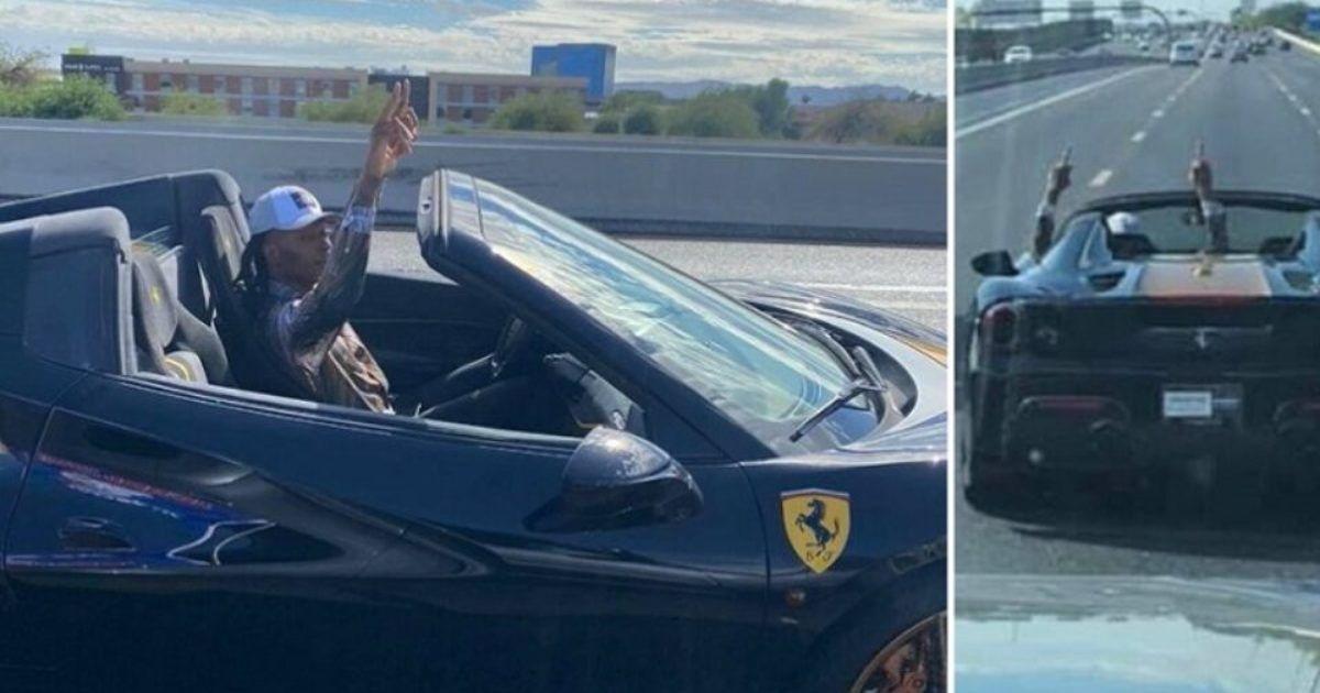 NFL Superstar Driving Italian Sports Car Caught Giving Two ...