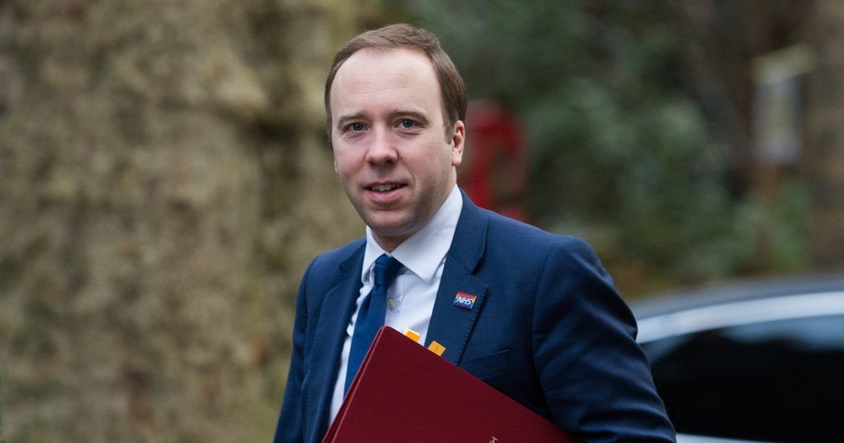 UK Health Secretary Confirms Armed Forces Will Be Involved ...