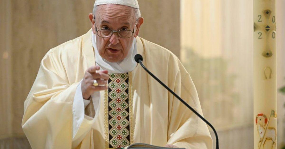 Pope Francis Says The Poor & Weak Should Get Coronavirus ...