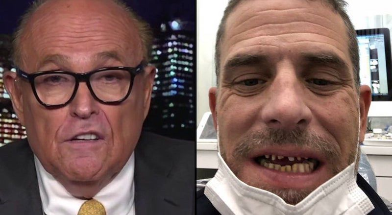 Giuliani: SICKENING Photo's on Hunter Biden's Laptop Will 'Shock the Hell Out of You' - News Punch