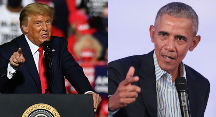 Obama Mocks Trump for Believing 'Secret Cabals Run the ...