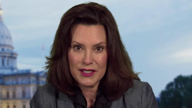 Gov Whitmer: If You're Tired of Lockdowns, Vote for Biden ...