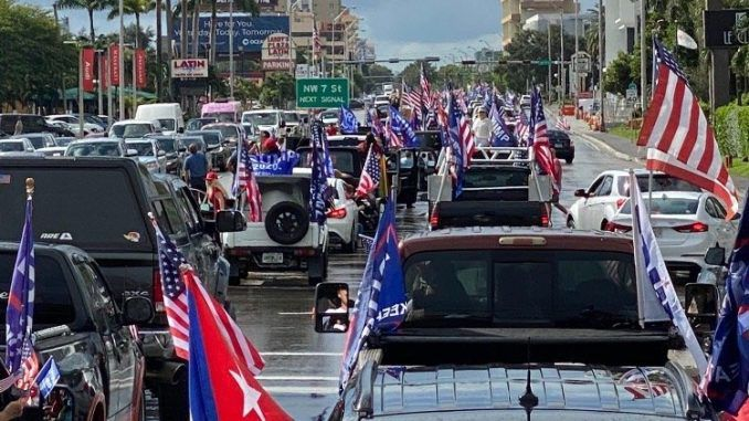 Over 30,000 Cars Participated in Anti-Communist, Latinos ...