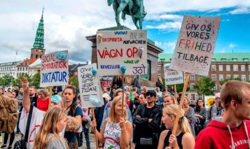 Forced Vaccination Law ABANDONED in Denmark After Mass ...