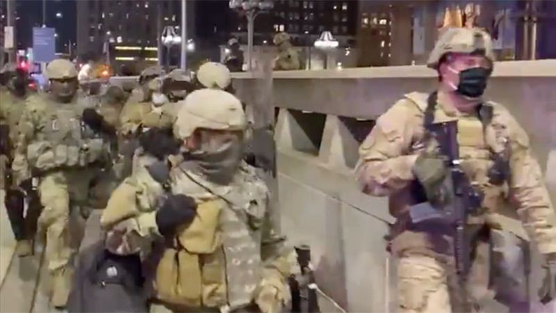 Videos: Troops Arrive in U.S. Cities Ahead of Election ...