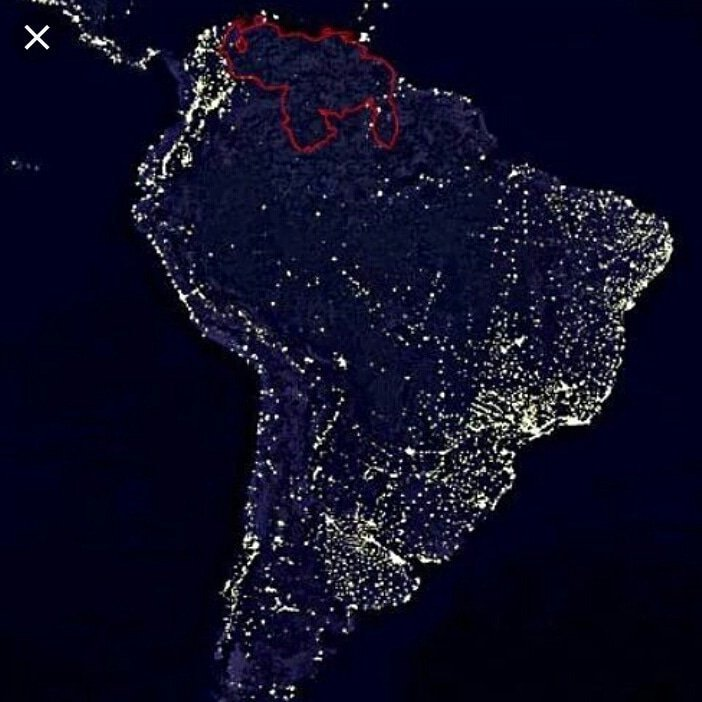 Large power outage currently ongoing in Venezuela. Most of Caracas is currently without power…