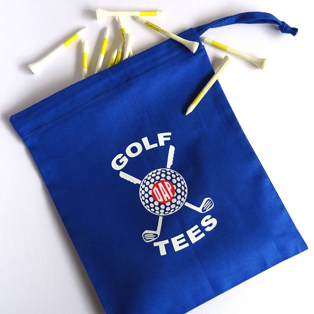 Personalized Golf Tee Bag By Frozen Fire ...