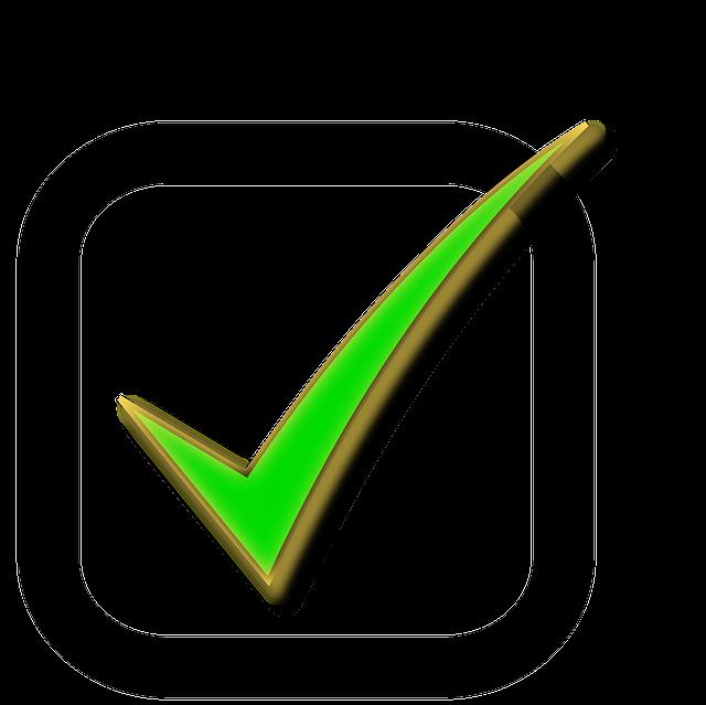 Checkbox Check Tick · Free vector graphic on Pixabay