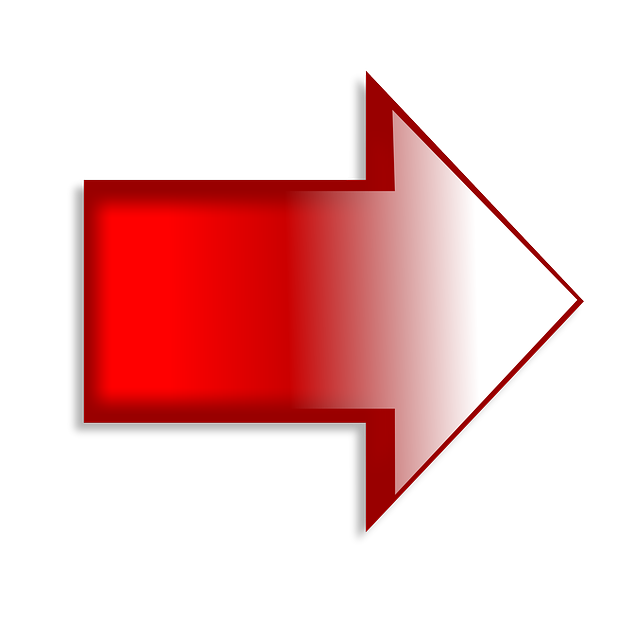 Right Arrow Red · Free image on Pixabay