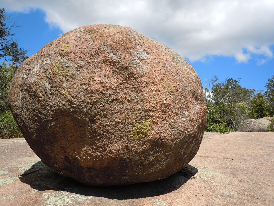 Free photo: Rock, Boulder, Round, Stone, Nature - Free ...