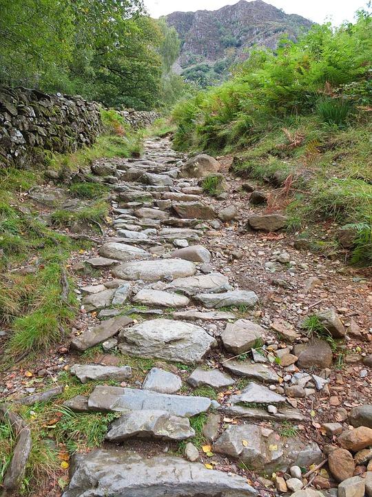 Rugged Pathway Lakedistrict · Free photo on Pixabay