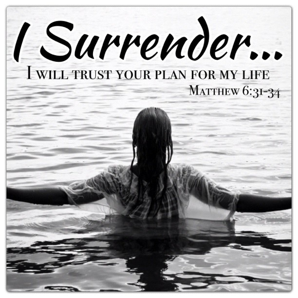 Christian Inspirational Quotes About Surrender. QuotesGram