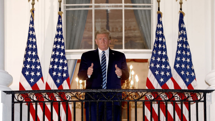 President Trump updates nation in video from White House ...