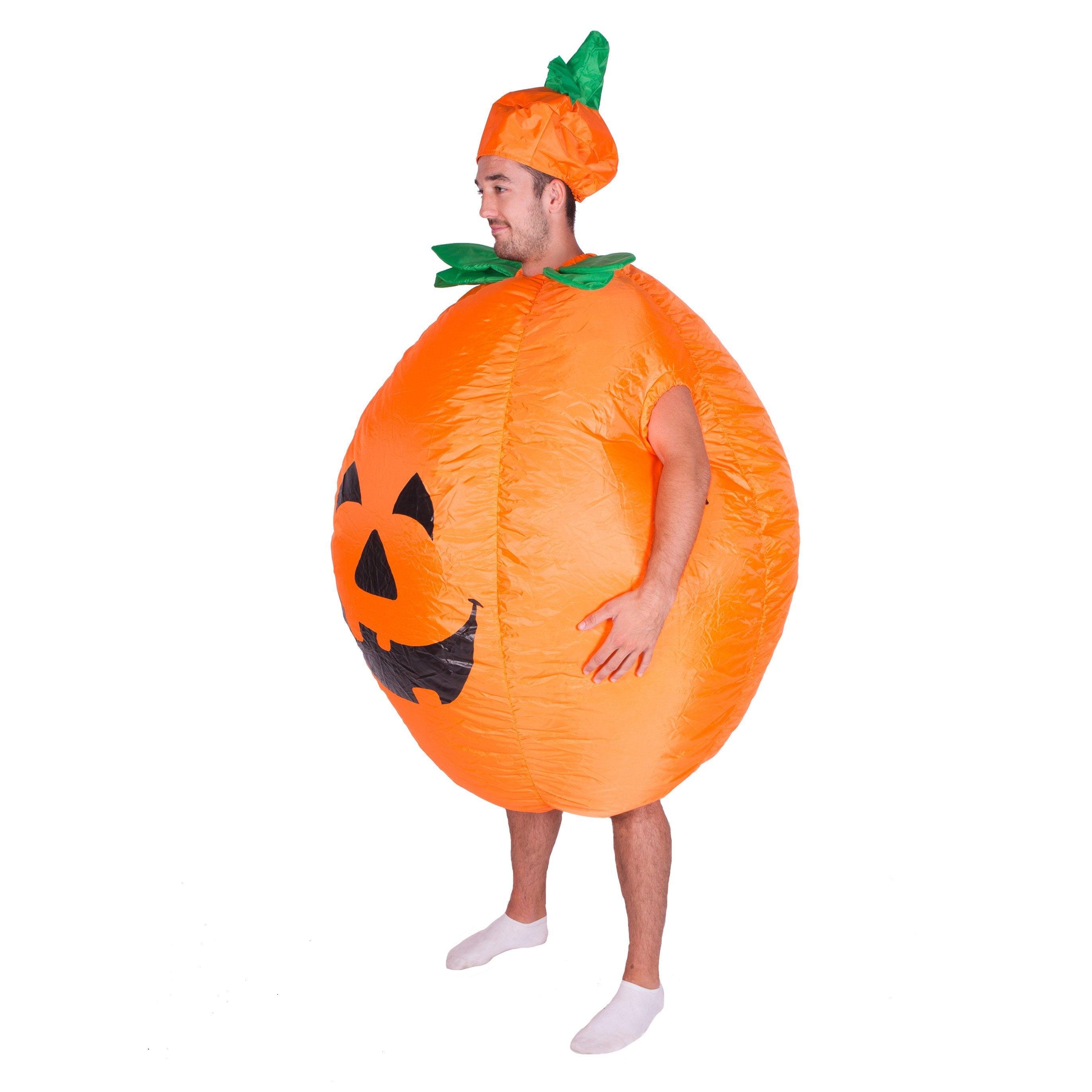 Inflatable Pumpkin Costume - Bodysocks US