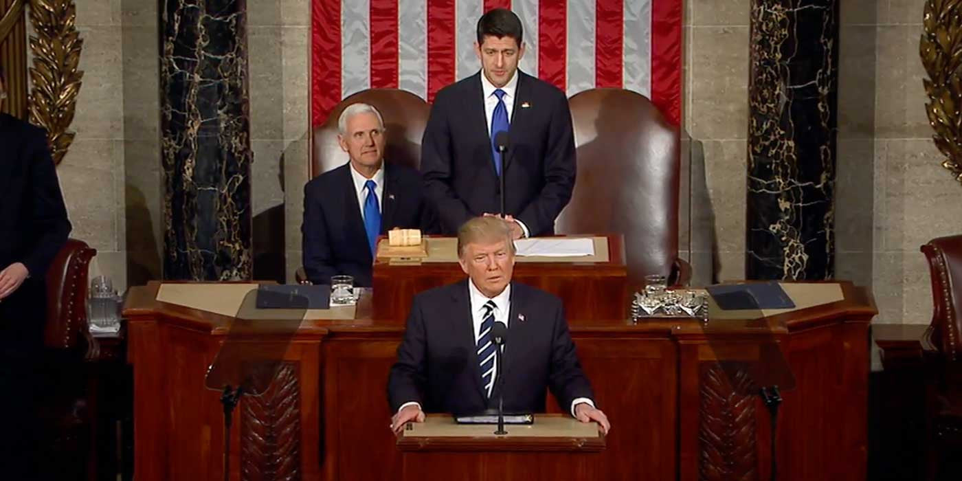 POLL: How was President Trump's first joint address to Congress ...