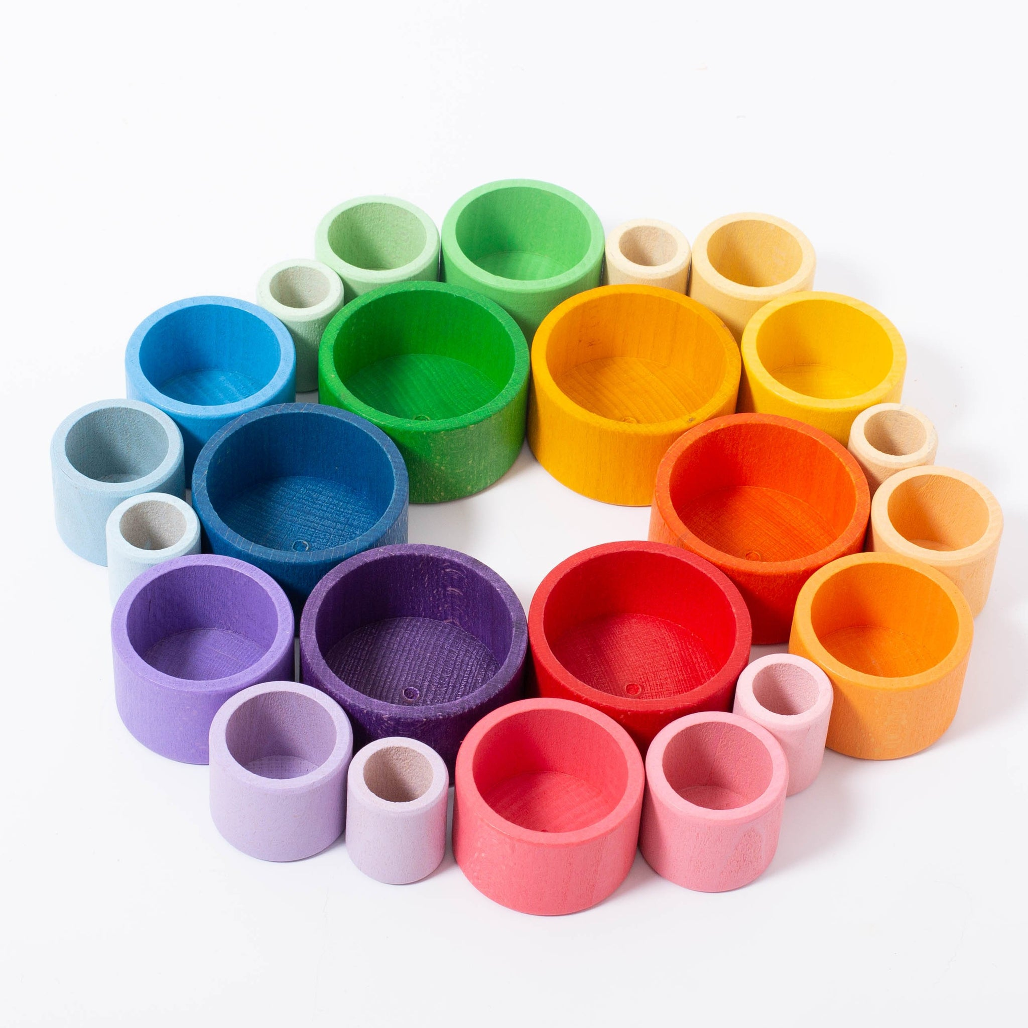 Grapat Nesting Bowls Set – Play to Learn