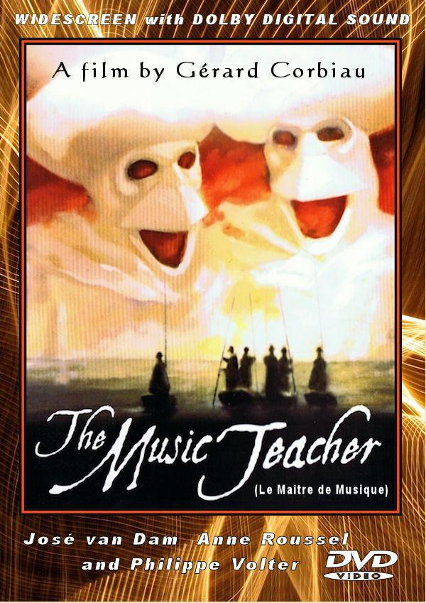 The Music Teacher (Le Maître de Musique) 1988 DVD