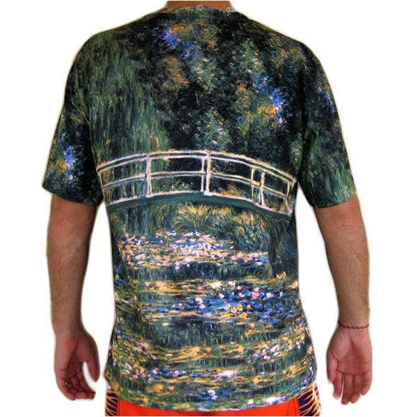 Tshirt Monet sur artprintclothing.com