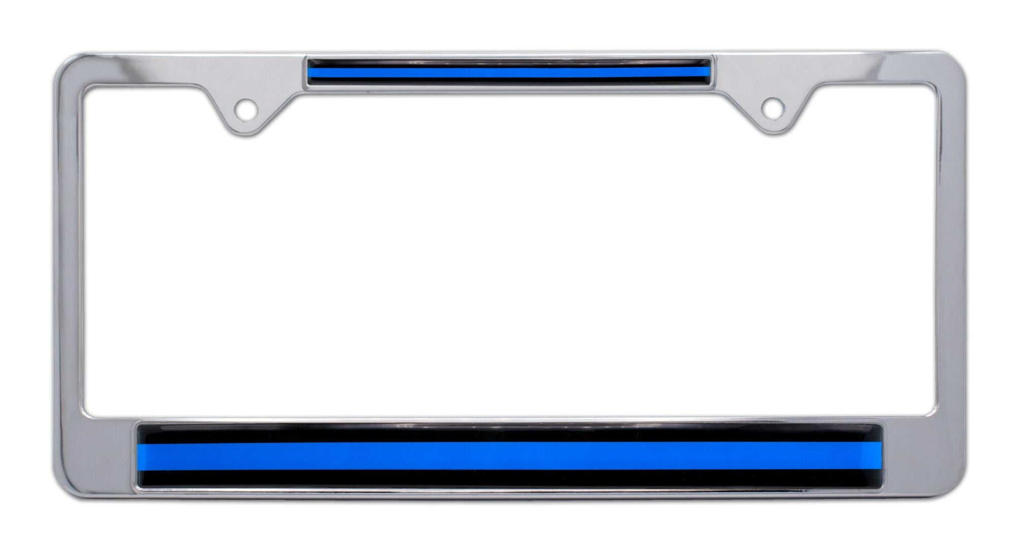 Thin Blue Line License Plate Frame - Thin Blue Line Shop