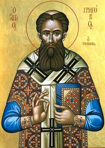 Orthodox icon of Saint Gregory Palamas (2) - orthodoxmonasteryicons.com