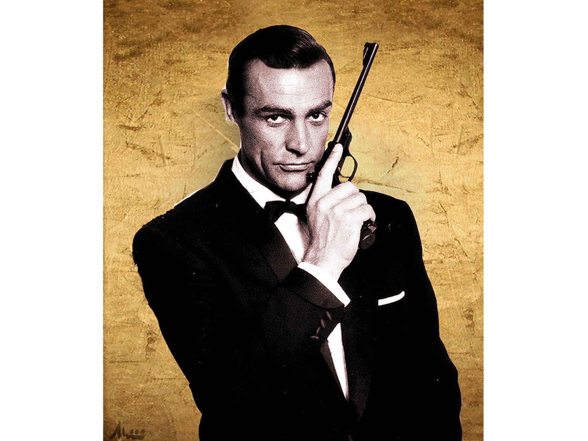 Sean Connery as James Bond - Albin Albinini - Another Dandy