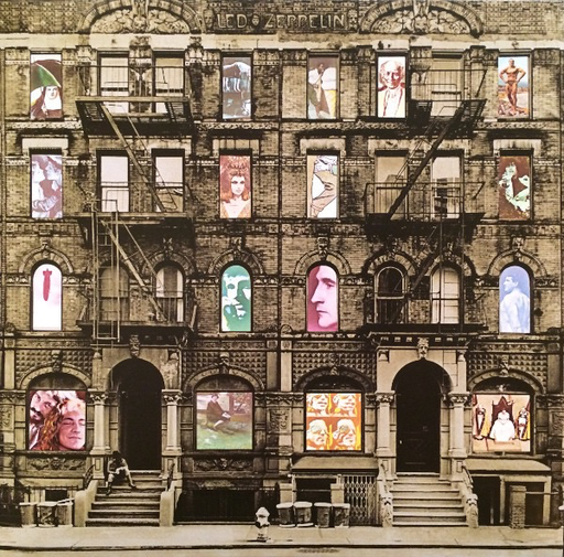Led Zeppelin -- Physical Graffiti LP deluxe edition 3lp ...