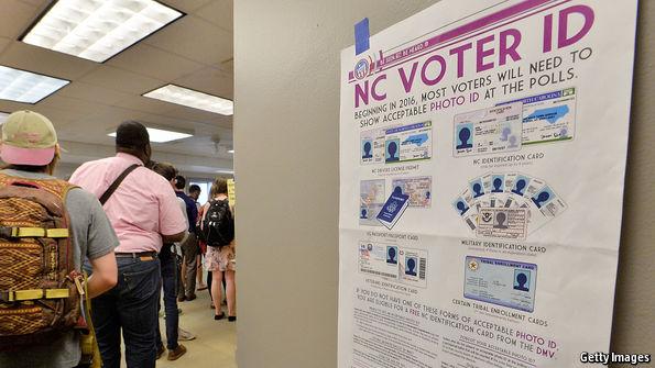 North Carolina court blocks voter ID law as discriminatory…