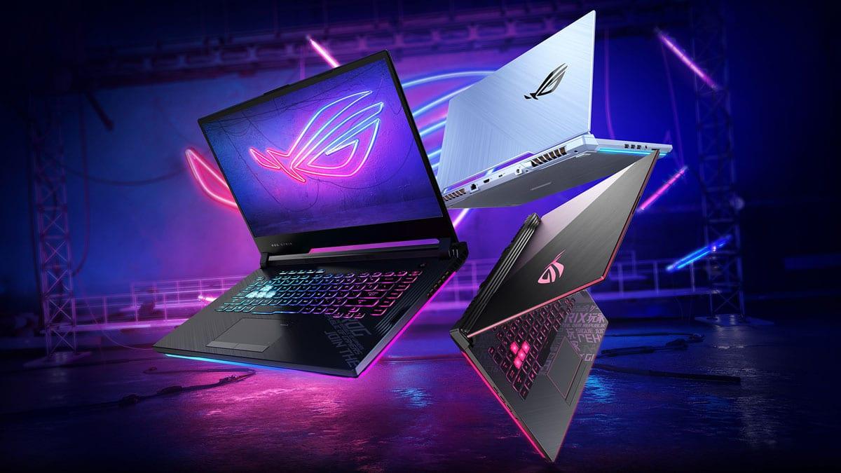 ASUS ROG STRIX G15 Laptop with AMD Ryzen 5900HX CPU and ...