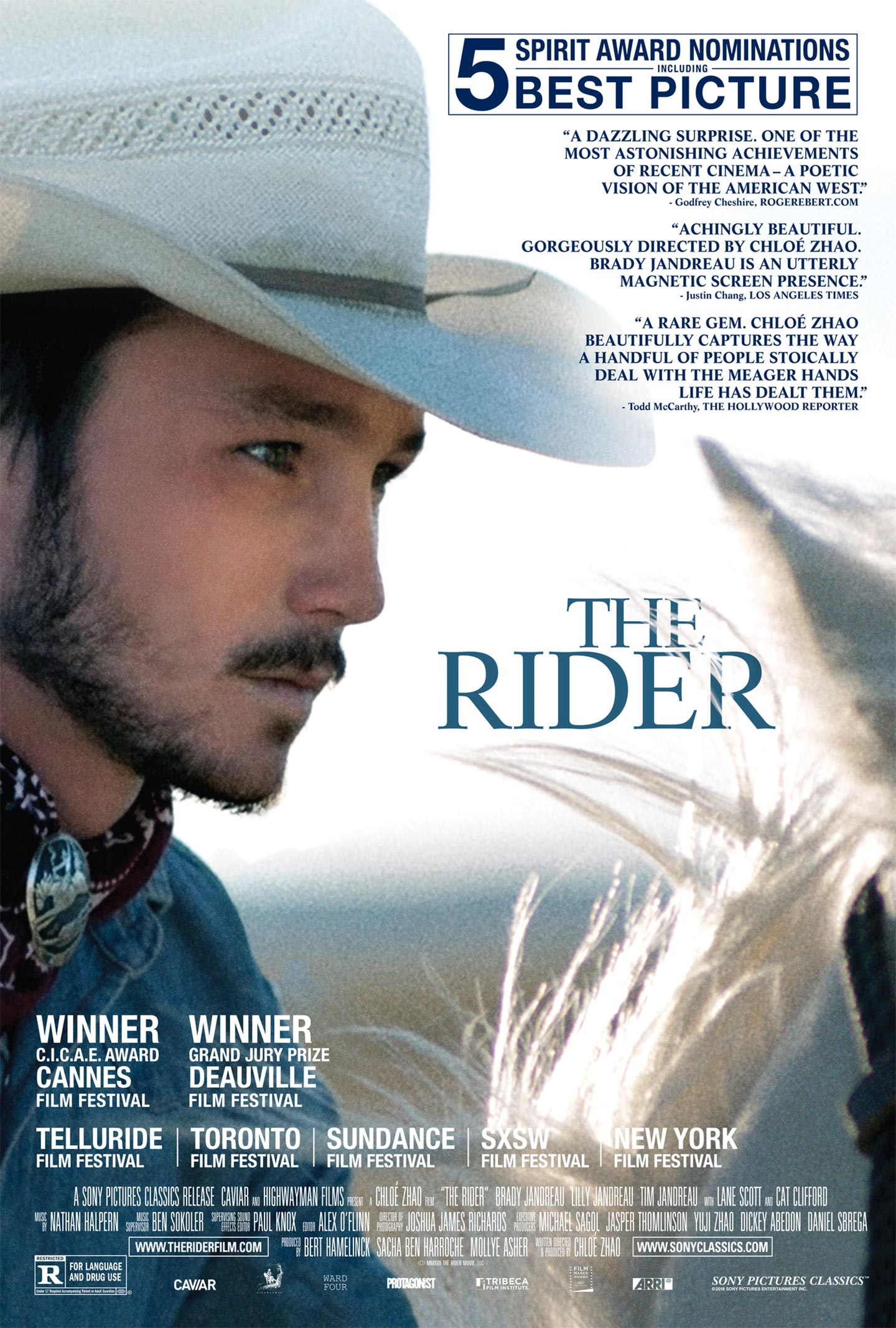 The Rider (2018) Poster #1 - Trailer Addict