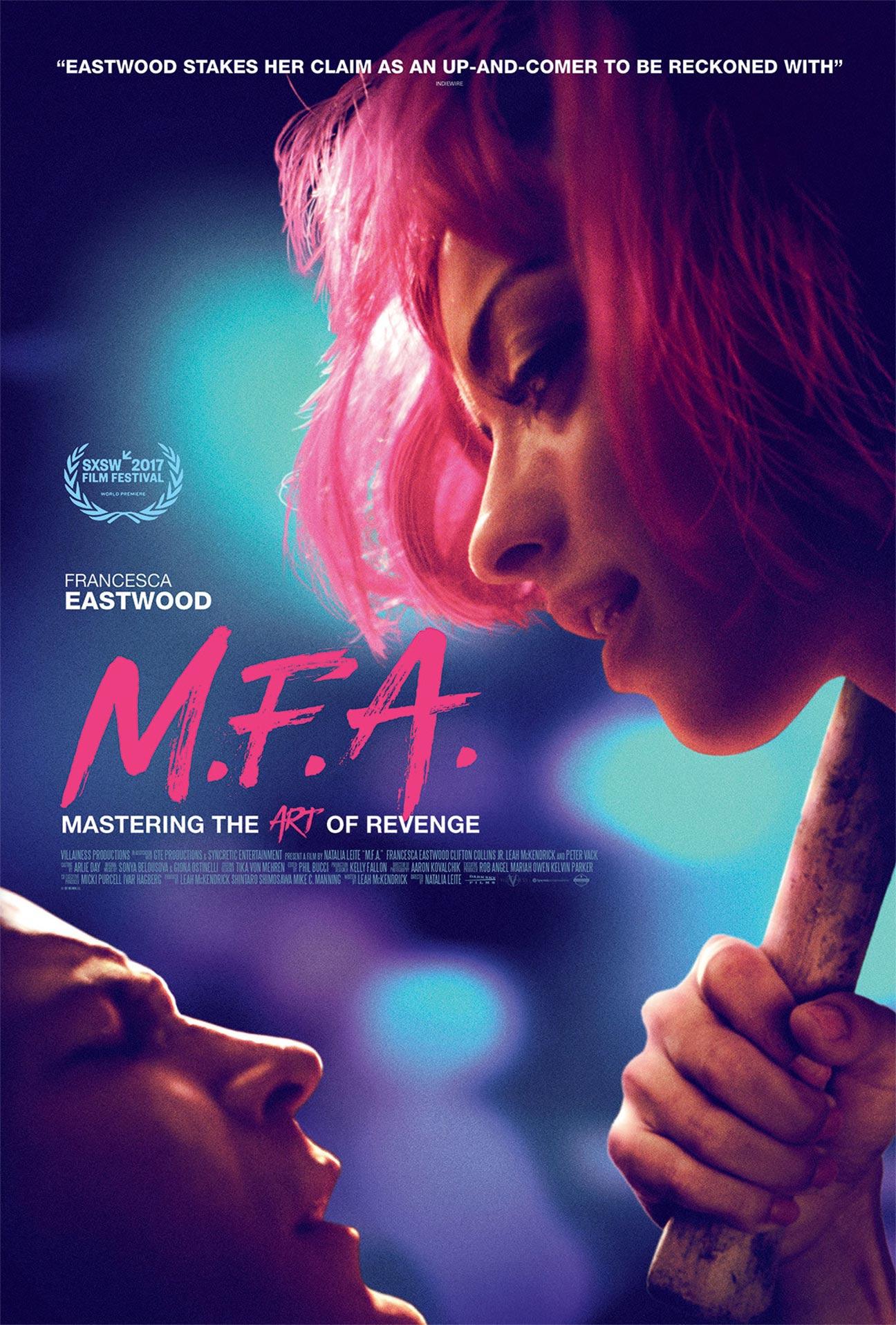 M.F.A. (2017) Poster #1 - Trailer Addict