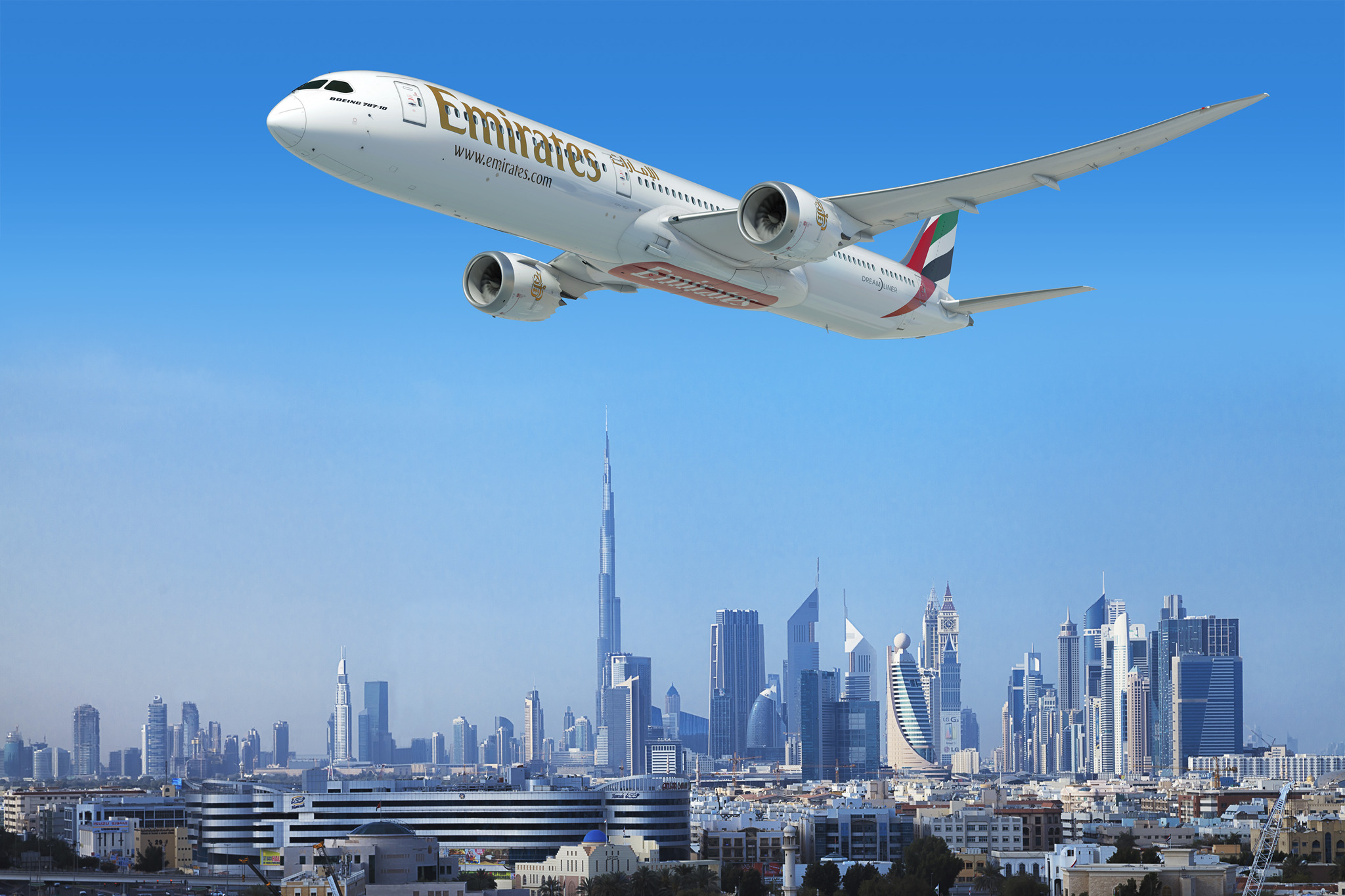 Emirates places US$15.1 billion order for 40 Boeing 787 ...