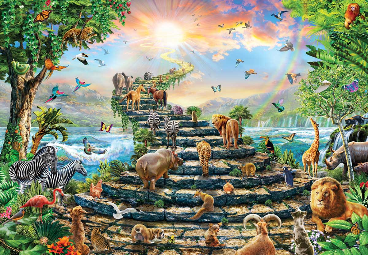 Stairway to Heaven, 260 Pieces, Anatolian   Puzzle Warehouse