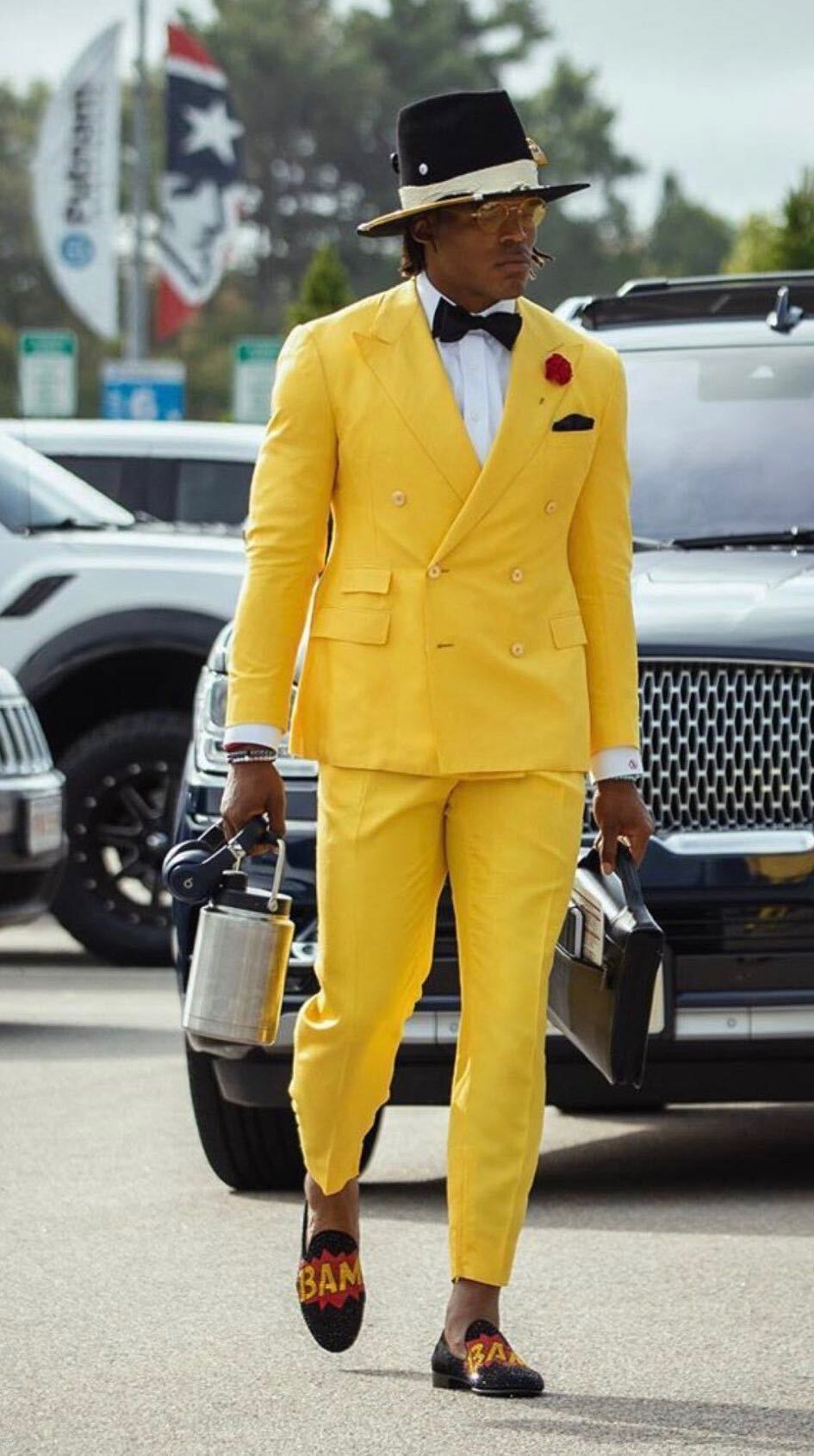 Cam Newton's outfits, graded by a fashion expert and a ...