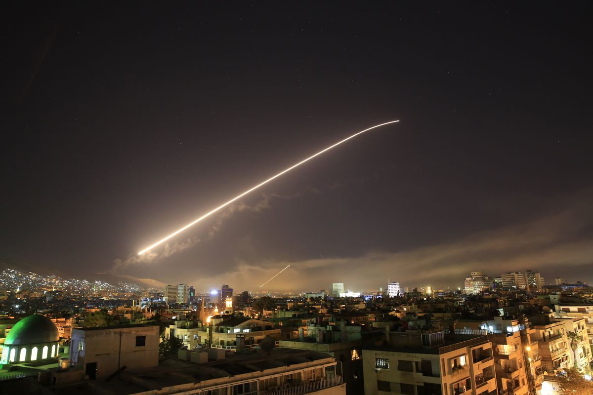 The U.S's bombing of Syria - Scratch Paper