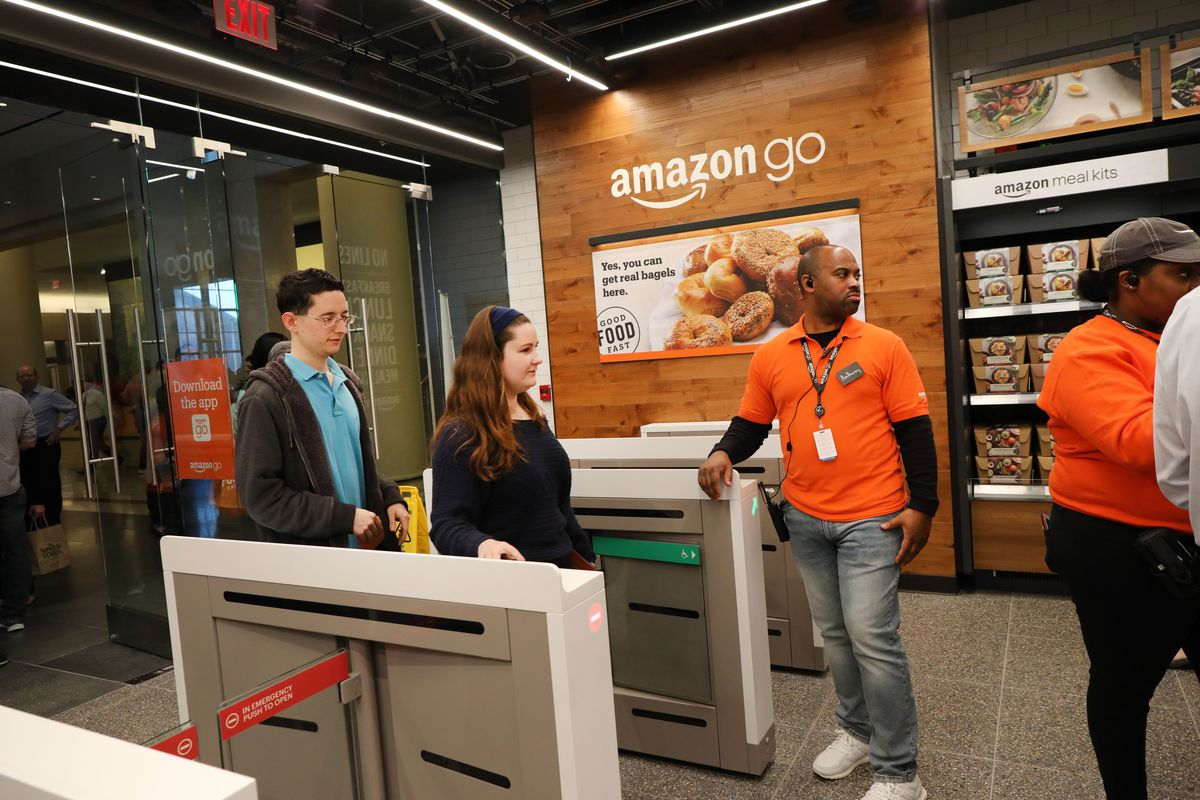 Amazon wants to patent technology that could identify shoppers by their hands. The system could someday be used in Amazon Go or Whole Foods stores…