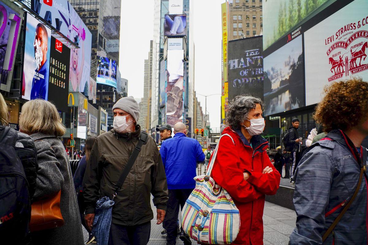 White House tells anyone who has left NYC that they should self quarantine…